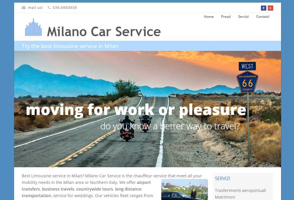 Milano car service